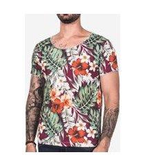 camiseta hermoso compadre tropical masculina