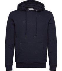 cameron aoe hoodie hoodie trui blauw les deux