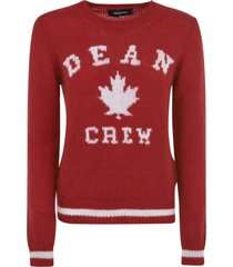 dsquared2 dean crew sweater