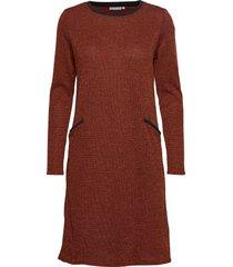 frfinew 3 dress knälång klänning orange fransa