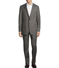 milburn ii classic fit textured wool suit