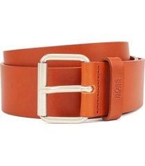 boss sergen roller buckle belt |medium brown| 50424662-210