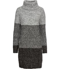 abito in maglia a collo alto (grigio) - bodyflirt