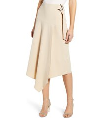 women's vince camuto belted asymmetrical skirt