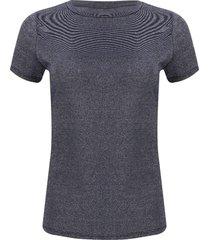 camiseta mujer lurex color azul, talla 6