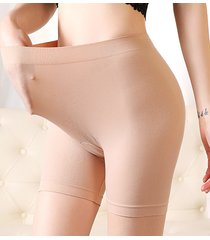 mutande in cotone elastico traspirabile senza tracce ad alzare fianchi