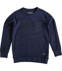 petrol donkerblauwe sweater