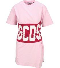 gcds dress with logo band