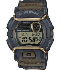 reloj g shock gd_400_9 verde resina hombre