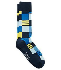 travel tech color block & stripe mid-calf socks, 1-pair