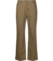 aspesi low-waist trousers - green