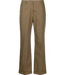 aspesi low-waist trousers - green