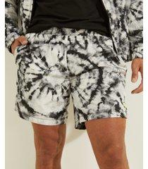 tie-dye crinkle shorts