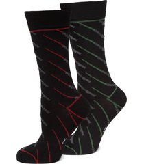 cufflinks, inc. star wars lightsaber battle socks