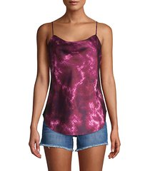 tie-dyed camisole