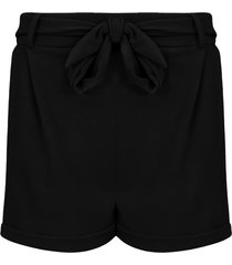 basic strik shorts zwart