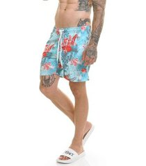 bermuda offert beach short palmeira masculina - masculino