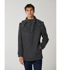 saco gris prototype  city coat