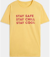 camiseta amarillo seven seven