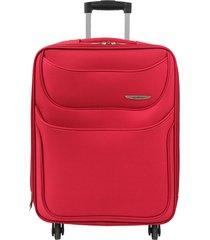 maleta mediana runner rojo 24