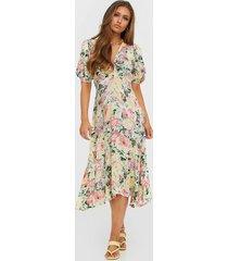 faithfull the brand vittoria midi dress fodralklänningar