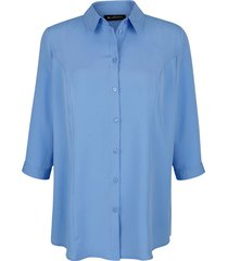 blouse m. collection blauw