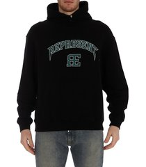 represent varsity logo hoodie
