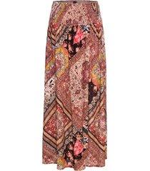 kjol med omlottlook