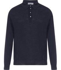 drumohr merino wool polo shirt