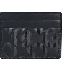 dolce & gabbana logo motif card holder
