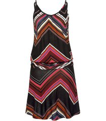lange jurk lascana giselle strapless beach dress