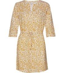 kabellapw dr korte jurk geel part two