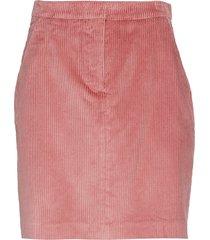 d1. wide wale cord skirt kort kjol rosa gant