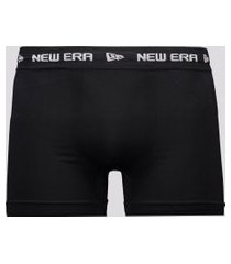 cueca boxer new era branded preta