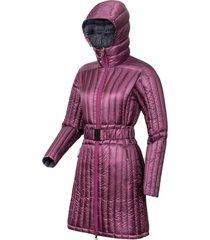 abrigo astrid hoodie morado doite