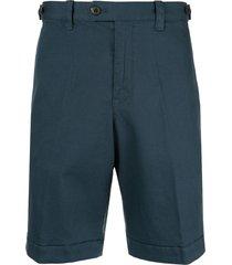 kent & curwen multi-pocket shorts - blue