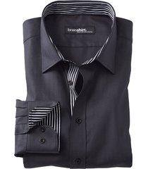 overhemd start up, zwart-visgr 45/46