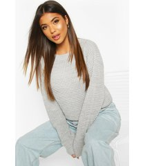 oversized vintage sweater, silver