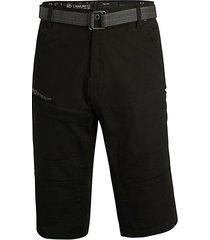 belted moto shorts