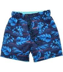pantaloneta azul  offcorss