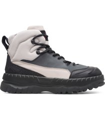 camper lab kiko kostadinov, sneaker uomo, beige/nero/grigio, misura 46 (eu), k300247-006
