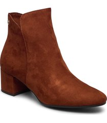 woms boots shoes boots ankle boots ankle boots with heel brun tamaris