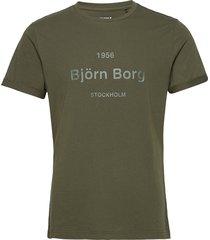 tee art art t-shirts short-sleeved grön björn borg