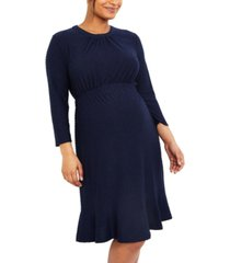 motherhood maternity a-line dress