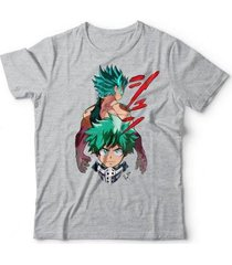 camiseta boku no hero deku - unissex