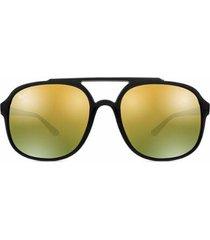 aabbf7b9d Óculos De Sol - Masculino - Ray Ban - P - Marrom E Preto - 3 ...