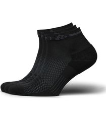 core dry mid sock 3-pack ankelstrumpor korta strumpor svart craft