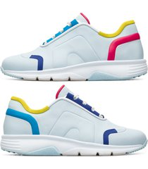 camper twins, sneaker donna, blu/rosa/giallo, misura 41 (eu), k200893-001