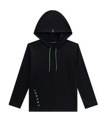 camiseta ml capuz básico preto johnny fox 8 preto