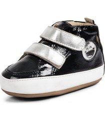 bota bebê koskinhas jumpy verniz cristal feminino - feminino